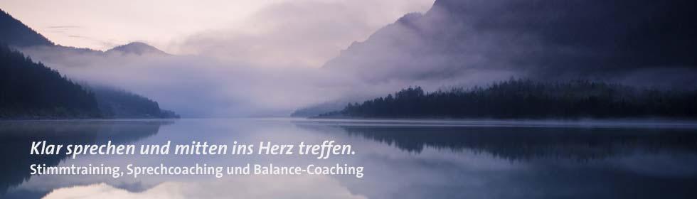 Stimmtrainer und Sprech-Coach